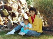 Danielle & Jelaila circ 1991